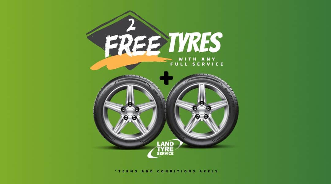 2 FREE Tyres